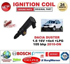 FOR DACIA DUSTER 1.6 16V +4x4 +LPG 105 bhp 2010-ON IGNITION COIL 2 PIN CONNECTOR