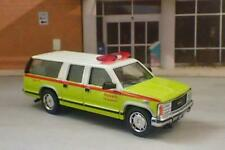 Fire & Rescue GMC Fire Department EMT Ambulance 1/64 Scale Limited Edition G