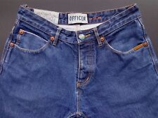 SuperDry Selvedge Officer Jeans (labeled 32 but fits much smaller, maybe 28)