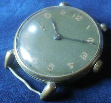 Vintage 1930s Huge CYMA TAVANNES 15 Jewels Swiss Made Running Wristwatch