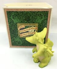 """""""Attention to Detail"""" Whimsical World of Pocket Dragons Signed Real Musgrave '95"""