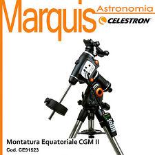 Mount The equatorial German CGM II cod. CE91523 Celestron Marquis