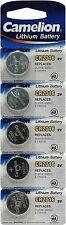 Genuine Camelion 5 X CR2016 R2016 E-CR2016 5000LC 3V Lithium Button Coin Cell