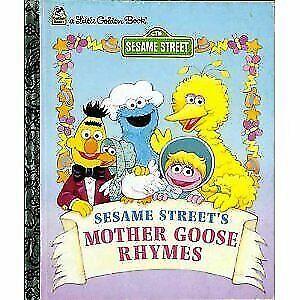Sesame Street's Mother Goose Rhymes Little Golden Books 1997