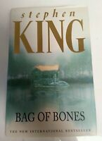 BOOK - Bag Of Bones By Stephen King 1st Edition Hardback Hodder & Stoughton 1998