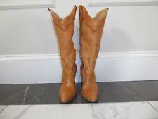 BCBGIRLS, size 8B, dark camel boots