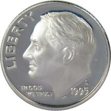 1995 S 10c Roosevelt Silver Dime US Coin Choice Proof