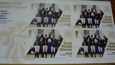 TEAM GB EQUESTRIAN JUMPING TEAM 4 X 1ST CLASS STAMPS