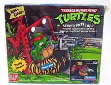VINTAGE Teenage Mutant Hero NINJA TURTLES TMNT-Sewer PARTY Tube