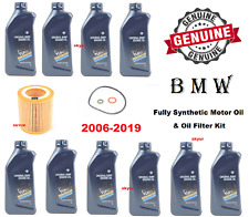 BMW Motor Engine Oil & Filter Kit 325i 435i 328i 330i 525i 535i 640i Z4 GENUINE