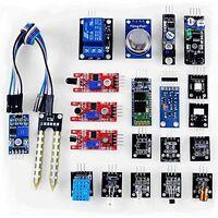 20 in 1 Sensor Modules DIY Board Set Kits for Arduino UNO R3 Raspberry Pi 2 3