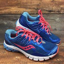 Saucony Lancer 2 Running Training Athletic Shoes Womens Sz 8 Blue Orange