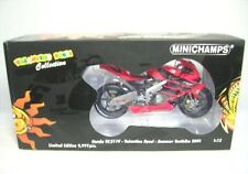 1 12 Minichamps Honda RC 211v Testbike World Champion Rossi 2001