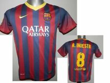 2013-14 FC Barcelona Home Shirt A.Iniesta #8 Soccer Jersey LB 12-13 yrs