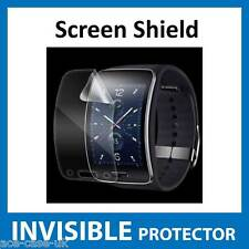 Samsung Gear S INVISIBLE Screen Protector - FRONT Military Grade - Anti Scratch
