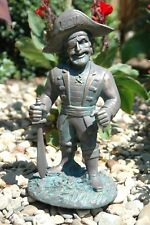 East Carolina Pirates ECU Mascot Garden Statue