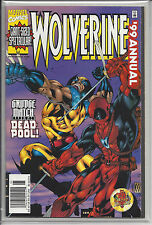 Wolverine Annual '99 Deadpool crossover Rob Liefeld