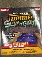 New Nib Make Your Own Slime Slimey Zombie Slime Kit