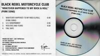 BLACK REBEL MOTORCYCLE CLUB Whatever Happened To... 2001 UK 4-trk promo test CD