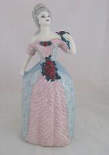 "Weil Ware Colonial Lady Figurine w Original Label, 13 1/4"" tall"