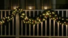 Bethlehem Lights 6' Decorative Canterbury Plug-In Garland