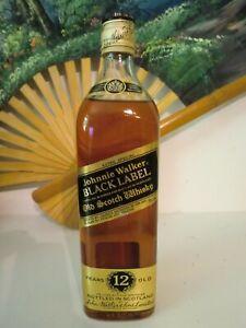 Johnnie Walker Black 12 Years Scotch Whisky 80er 40% 750ml Japanimport