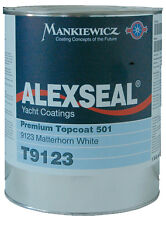 AWLGRIP / ALEXSEAL BOAT PAINT - CHOOSE ANY ALEXSEAL WHITE COLOR GALLON  - NEW
