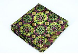 Lord R Colton Masterworks Pocket Square - Sao Paolo Black Silk - $75 Retail New
