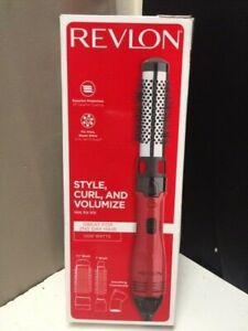 "Revlon Hot Air Kit 1 1/2"" Brush, 1"" Brush, Smoothing Concentrator RV440RED"