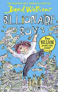Billionaire Boy by David Walliams (Hardcover, 2010)