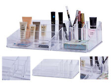 Large Nail Polish Lipstick MakeUp Clear Display Acrylic Stand Cosmetic Organiser