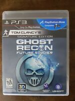 USED Tom Clancy: Ghost Recon-Future Soldier Signature Edition Sony PlayStation 3