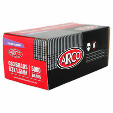 Airco Electro Galvanised C63 Brad Nails 63x1.6mm 5000pcs