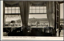 Rüdesheim ~ 1940 ak viticultura hotel claro Rhenish patio vieja postal Hessen