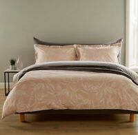 Christy Bamboo Single Bed Duvet Set 100% Cotton 200 Thread Count RRP £70
