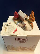 Exc 1990 Lilliput Lane Covered Memories American Landmarks Collection Box & Deed
