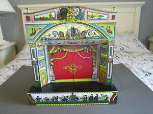 Toy Theatre - wood and cardboard - Pollocks Redington Neptune Paper Theatre