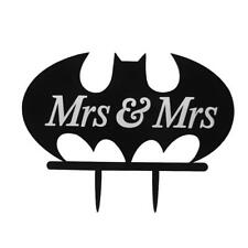 Mrs & Mrs Gâteau Décoration Topper Pr Le Lesbien Mariage Et anniversaire