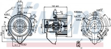 Innenraumgebläse NISSENS 87131 für FIAT