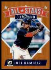 2018 Orange Prizm All-Stars' Jose Ramirez 080/199 Cleveland Indians #169