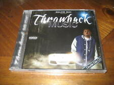 Chicano Rap CD Malow Mac - Throwback Music - 2 Disc Set - West Coast Latin