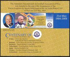 Guyana 2004 FIFA 100th Anniversary/Football/Sports/Games/Soccer 1v m/s (s4704e)