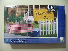 500 pc Puzzle, Puzzlebug: Homemade Lemonade, Brand New & Sealed