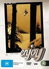 Enjoy (DVD, 2008) Ski Film from Rage Films - Brand New  Region 4