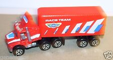 RARE GALOOB 1989 CAMION TRUCK MACK US SEMI REMORQUE RACE TEAM NO HO 1/100