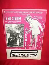 LE MACCHIE ROSSE La mia stagione + NANCY CUOMO Avengers 1969 Spartiti BEAT