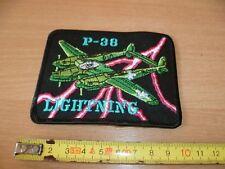 (E26) ECUSSON PATCH USA ARMY    P-38  LIGHTNING