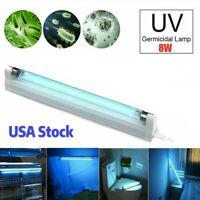 UV Disinfection Lamp UVC Ozone Ultraviolet Sterilizer Germicidal Light Bulb 8W
