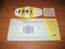 More details for 3 vintage b.o.a.c items 1950's aviation british overseas airways corporation