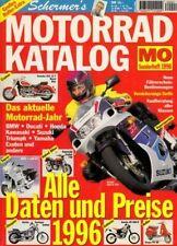 MO Kat96 + Schermer's MOTORRAD-Katalog 1996 + Roller-Extra + 188 Seiten